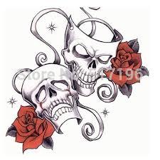 pretty free skull designs to print peacock tattoos on
