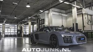 Audi R8 Nardo Grey - audi r8 v10 plus nardo grey foto u0027s autojunk nl 165659