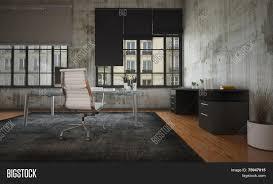 3d rendering stark modern office image u0026 photo bigstock