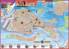 venice map venice city sightseeing hop on hop boat tour venice