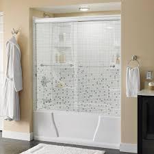 Tile Shower Door by Shower Doors Showers The Home Depot