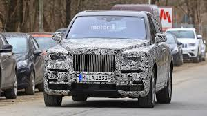 roll royce cullinan rolls royce admits cullinan name u201cjust a working project title