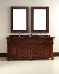 home u003e 72 inch double sink bathroom vanity with eight drawers 100