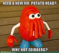 Zoidberg Meme - mr potatoiberg futurama zoidberg why not zoidberg know your