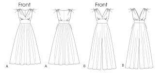 jumpsuit stitching pattern mccall s 6760 misses dress and jumpsuit