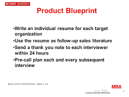 Individual Resume 1 Job Search Strategy 2 You Are The Product How To Sell