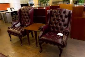 burgundy tufted wingback chairs peartree office furniture 24