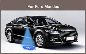 ford explorer logo car styling 2 pcs mirror door welcome led ghost shadow projector