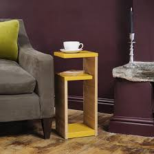 Yellow Side Table Uk Top 10 Side Tables With Storage For Small Spaces Colourful