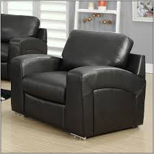 Black Leather Accent Chair Leather Accent Chairs Simple The Stylish And Stunning Brown