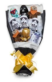 wars gift basket wars bouquet assortment thinkgeek