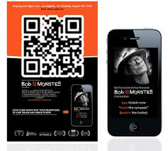 qr code to mobile web streaming movie trailer qr code case study