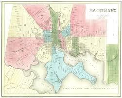Baltimore City Map File Baltimore Street Map 1838 Jpg Wikimedia Commons