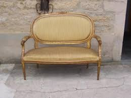 canape louis xvi sofa of louis xvi period