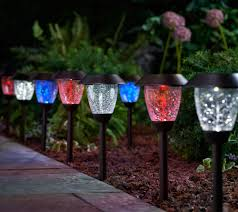 Top Rated Solar Landscape Lights by Paradise Set Of 8 Color Select Solar Light Set With Remote Page