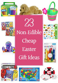 23 non edible cheap easter gift ideas