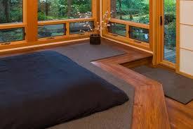 bedroom ideas great floor beds design ideas with black fabric