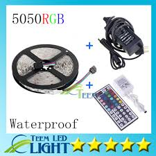 5050 smd 300 led strip light rgb 5m 5050 smd rgb waterproof 300 led strip light ribbon tape 24 44