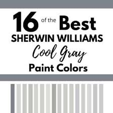 best sherwin williams grey colors for kitchen cabinets 16 cool gray paint colors sherwin williams west magnolia