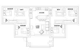 flor plans floor plans vista co student housing irvine ca