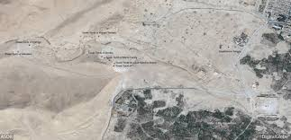 Satellite Map Live Special Report Update On The Situation In Palmyra U2013 Asor Cultural