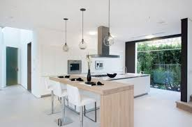 Light Wood Kitchen Table by Awesome Kitchen Wall Unit Lighting With Glass Shelving Systems