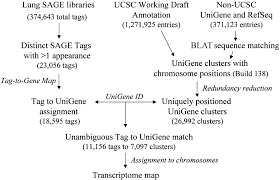 Ucsc Map A Preliminary Transcriptome Map Of Non Small Cell Lung Cancer