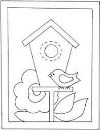 birdhouse quilt pattern birdhouse applique pattern google search appliqué ideas