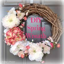 2014 diy spring wreath u2013 puddy u0027s house