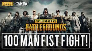 pubg quiz pubg 100 man fist fight youtube