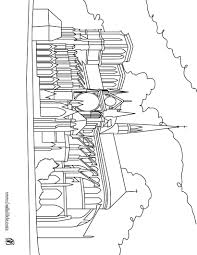 cathedral notre dame coloring page arts u0026 crafts pinterest