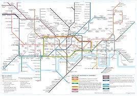 map of the underground in map with attractions underground in of stations