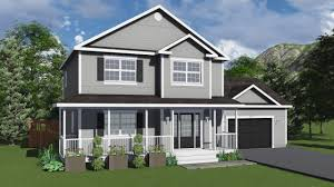two storey l new custom homes