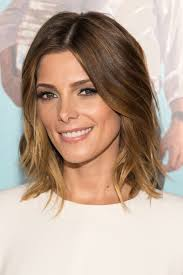 ashley greene with beautiful ombre wavy long bob haircut ideas on ashley tisdale and ashley greene
