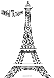printable eiffel tower coloring pages kids cool2bkids