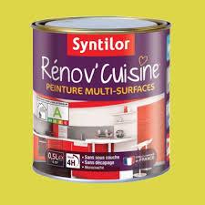 produit de cuisine peinture multi surfaces syntilor rénov cuisine pomme pas cher en ligne
