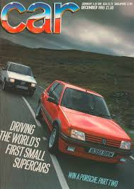 peugeot cars 1985 the entertainers peugeot 205 gti vs fiat uno turbo car archive
