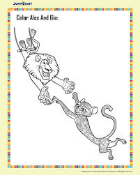 madagascar 3 colouring sheets 44 images coloring