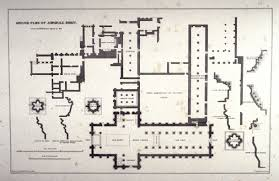 Floor Plan Of A Mosque by Jervaulx Abbey Ground Plan Second Plate Opposite Page 66 And