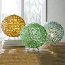 batasha recycled glass globe lamps vivaterra