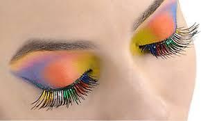 false eyelashes feather eyelashes party city