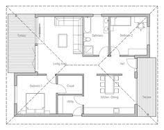 Open Plan House Plans 700 To 800 Sq Ft House Plans 700 Square Feet 2 Bedrooms 1