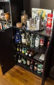 Pub Table Ikea Bar Cabinet Mini Set Dining Room With Gl Doors