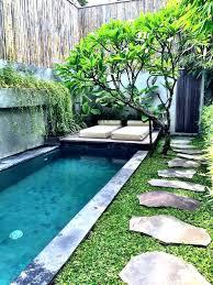 small yard pool inground pool designs for small backyards small backyard pool 2