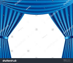 Blue Curtains Vector Stage Blue Curtains Stock Vector 77020249 Shutterstock