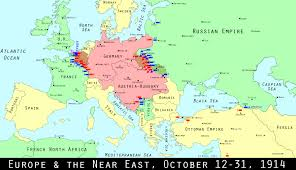 Map Of East And West Germany by Wwi Centennial Revolving Door War On The Eastern Front Mental Floss