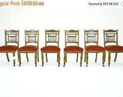antique dining chair etsy