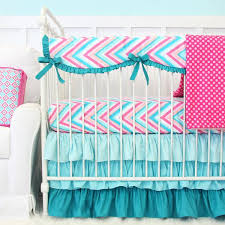Pink Chevron Crib Bedding Chevron Baby Crib Bedding Caden