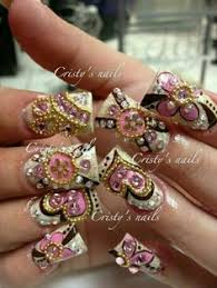 glamour nails by teresa tapia glamour nails pinterest