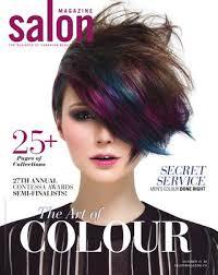 the latest hair colour trends 2015 calendar salon magazine october 2015 by salon communications inc issuu